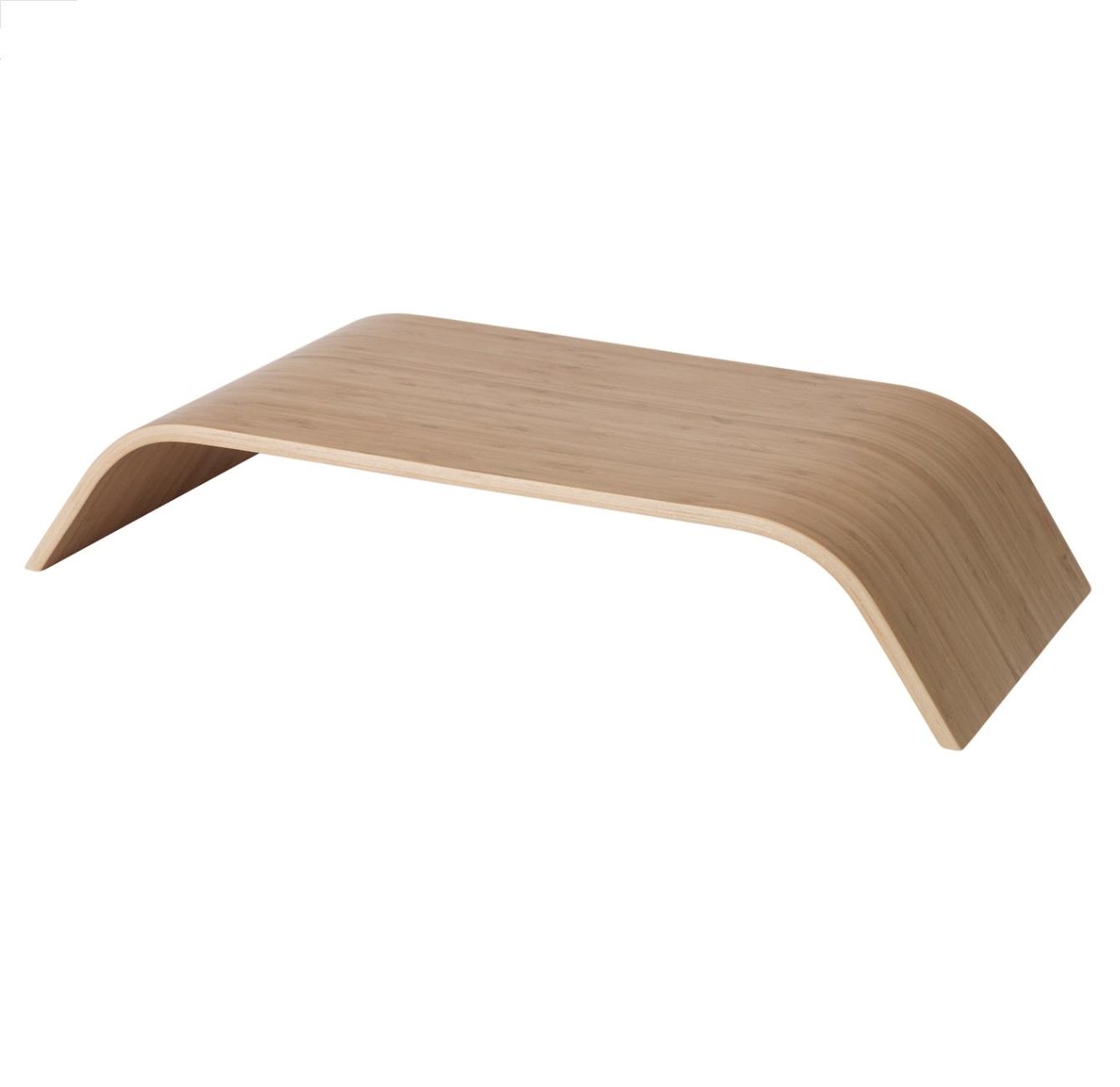 podstawka pod monitor bambus